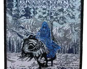 "Band ""Dissection Storm of the Light's Bane"" Black Metal Music Album Sew On Applique Patch"