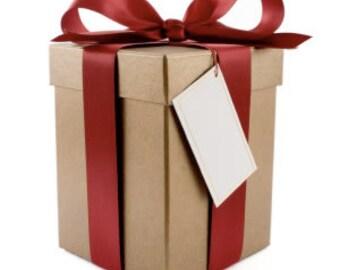 Mystery Gift Box 30.00 Value - Surprise Gift - White Elephant Box - Christmas Gift Set - Holiday Gift Set - Mystery Holiday Gift