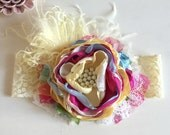 Bright Summer Headband- Baby Girl Headband- Baby Headband-Girls 1st Birthday-Giggle Moon Headband