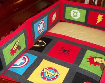 superhero baby bedding images - reverse search