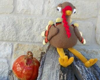 Tom-Tom Turkey crochet pattern pdf