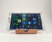 iPhone 7, 7 plus, Galaxy s6, s5  smart  phone stand, docking station , Oregon black oak ( 2-pack )