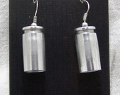 Ammo Earrings in Various Calibers and Finishes - Hanging or Post