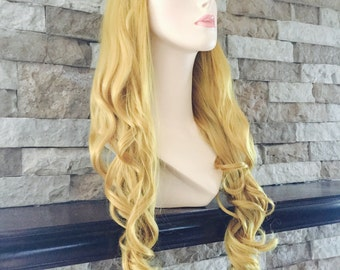 Princess Aurora / Sleeping Beauty / Full Synthetic Wig