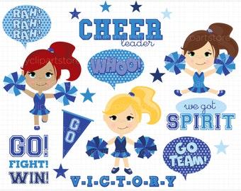 Cheerleader clipart | Etsy