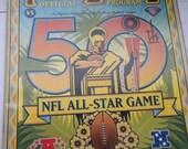 NFL ( National Football League ) Pro Bowl Program 1995 - Hawaii