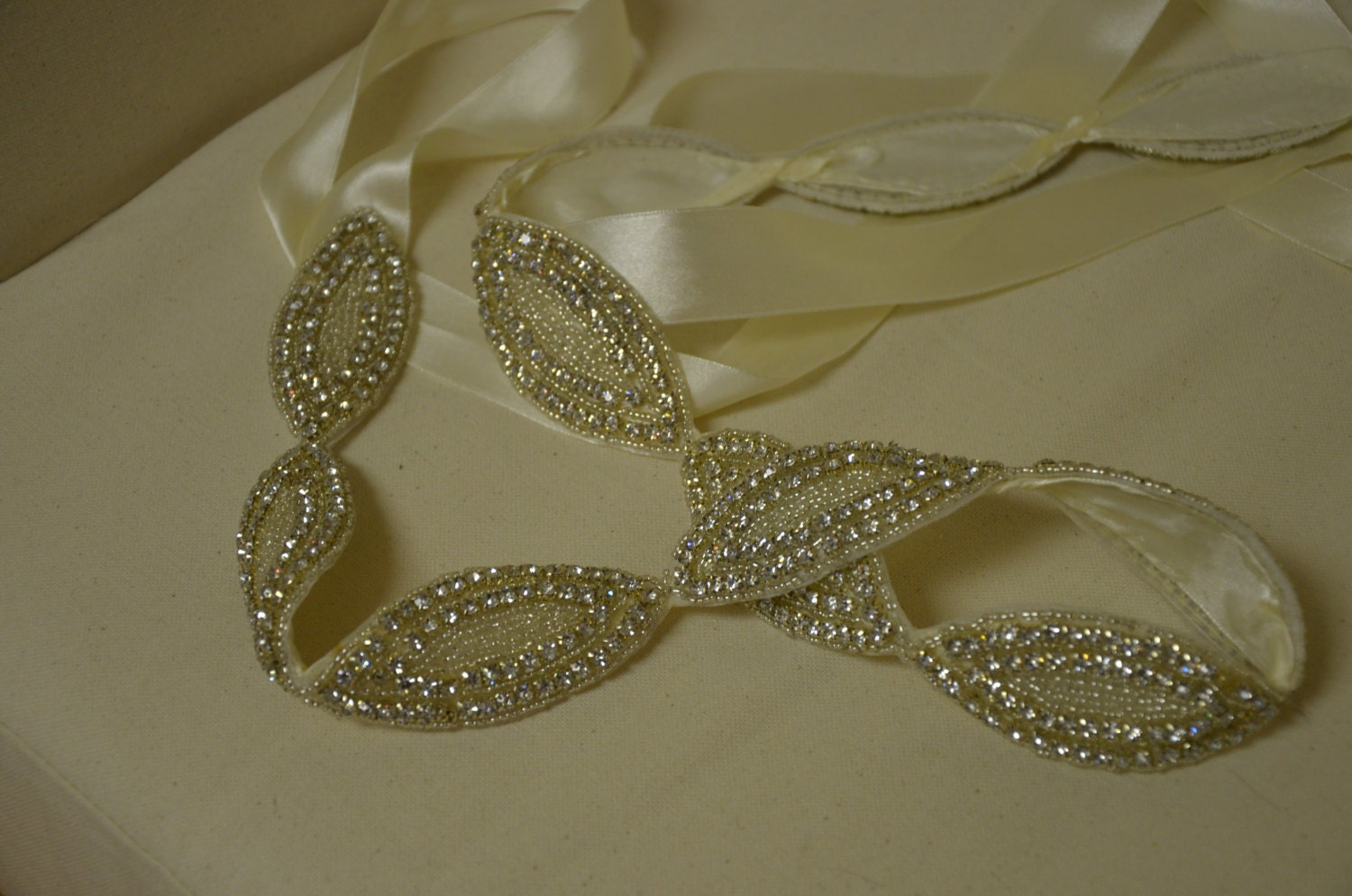 Plus Size Bridal Belt Sash Rhinestone Bridal Dress Wedding