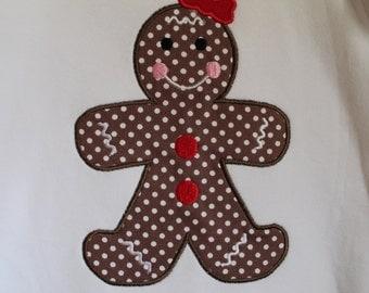 Gingerbread Girl Top