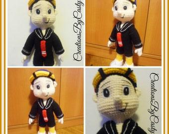 Quico Amigurumi : Quico Del chavo del 8 Amigurumi Doll