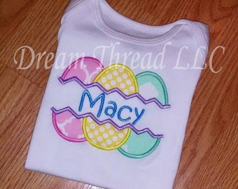 Easter egg onesie or shirt (made to order)