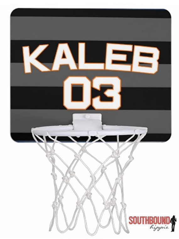 Basketball Mini Hoop Personalized Basketball Hoop By