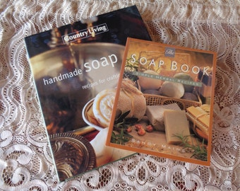 Soap Making Books Homemade Gifts Crafts Country Living and Sandy Maine Herbal Recipes Handmade Soap Bath Spa Natural Ingredients Herbs