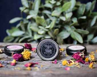 Natural Lip Balm Honeyed Lip Butter Herbal Salve Scented Essential Oil Frangrance Lip Gloss Mothers Day Gift Vetiver Ylang Ylang