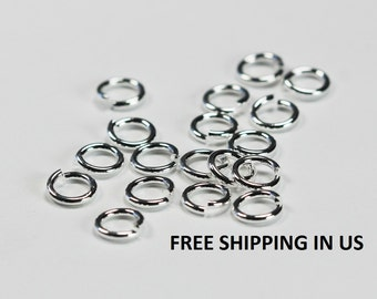 5 MM Silver Plated Jump Ring (18 Ga Wire)