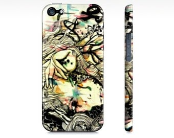 iPhone 5 case - iPhone 5s - Watercolor art - Phone case -  Cell Phone case - Phone cover - Phone Accessory