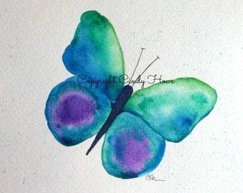 Digital art, digital download, butterfly, butterflies, watercolor butterfly, watercolor
