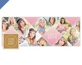 Senior Facebook Timeline Cover Template, Senior Facebook Cover Templates, Senior Templates, Facebook Template for Photoshop - FB192