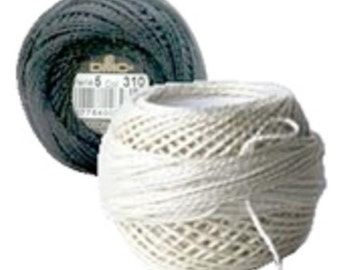DMC Pearl Cotton - Size 5 - Any of the 4 Colors