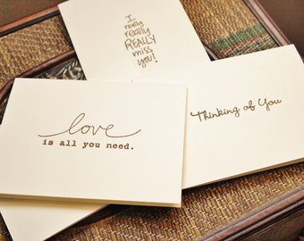 Thoughts of You Note Cards
