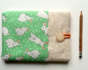"iPad mini case, ipad case cover, cool, tablet cover - ""rabbits"""