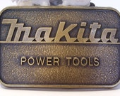 Brass Makita Power Tools Belt Buckle