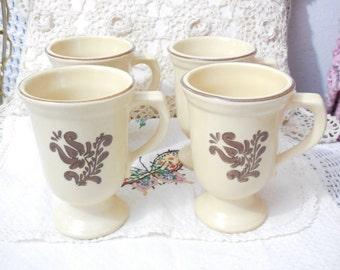 Pfaltzgraff Village Mugs Sets of 2 /3 Set Avail, Vintage Mugs, Vintage Cups, Vintage Dishes, Vintage Kitchen, Country Kitchen,  :)