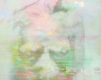 Figurative Dream-- Fine Art Print
