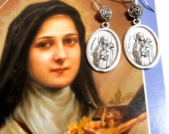 St. Therese of Lisieux Earrings