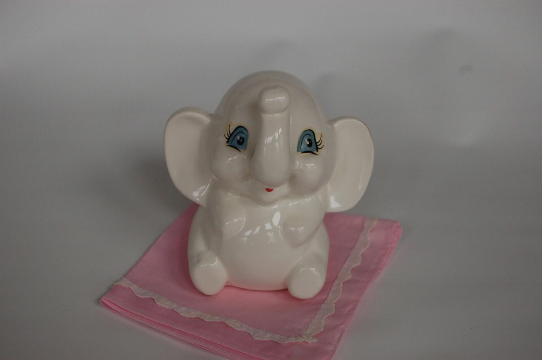 Vintage elephant bank elephant piggy bank ceramic elephant - Ceramic elephant piggy bank ...