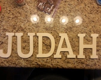 Wooden Letters, solid wood, THICK!