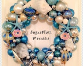 RESERVED for SHZINNER Custom Order XLarge Beach Wreath!