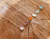 Bezel Set Gemstone - Small