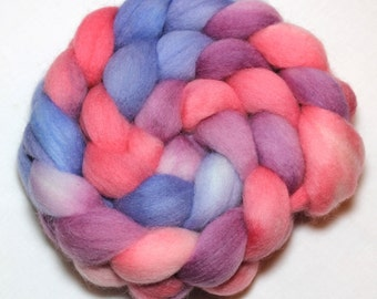 Handpainted Roving - Cinderella - Falkland Wool, 4 ounces
