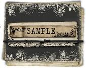 SAMPLE- For ONE (1) Item-LIMIT of 3 Samples Per Order.