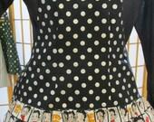 Betty Boop ruffled apron