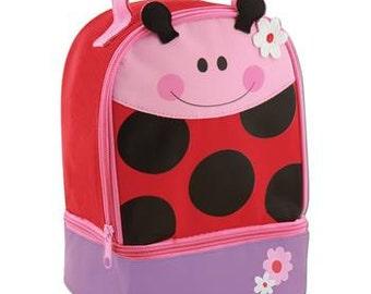 Personalized Stephen Joseph Ladybug Lunch Box