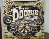 Doobie Brothers Upcycled/Recycled Tshirt Cross Body Bag
