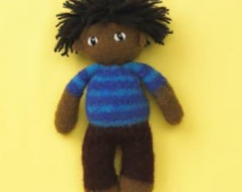 KuKu Doll Felted Doll Kit - Jacky