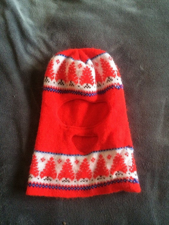 Vintage full face winter hat for T shirt printing westerville ohio