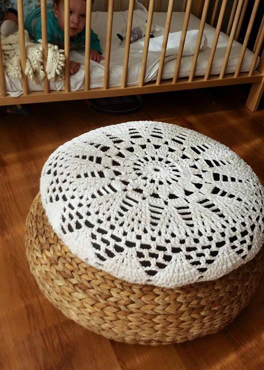 h keln sie ecru sonne kissen decken kissen vanille von. Black Bedroom Furniture Sets. Home Design Ideas