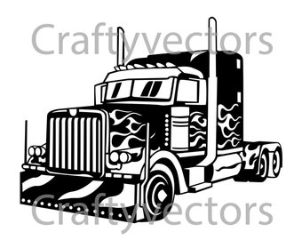 Big Rig vector file
