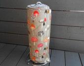 Reusable non Paper Towels set of 6 Earth Friendly Dear Stella Fabric Mushrooms