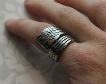 Spoon Ring, Size 8