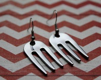 Fork Earrings