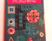 Let's Start Designing 1967 Mid Century Modern ART Needlecraft Pat Scrase book