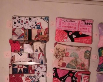 Fabric Tissue Holder/ Purse Accessory/ Tissue Holder/ Tissue Dispenser/teacher gift/thank you small gift