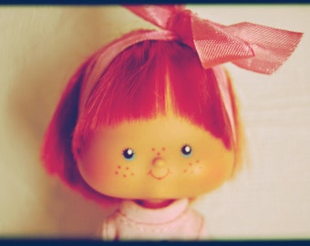 Strawberry vintage shortcake doll