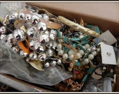 FOR CHARITY:  Medium Flat Rate box filled with scrap jewelry