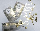 Mini Confetti Packs - Gold or Multi Color