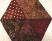 Russet Red Batiks / Six Pack Fat Quarter Bundle